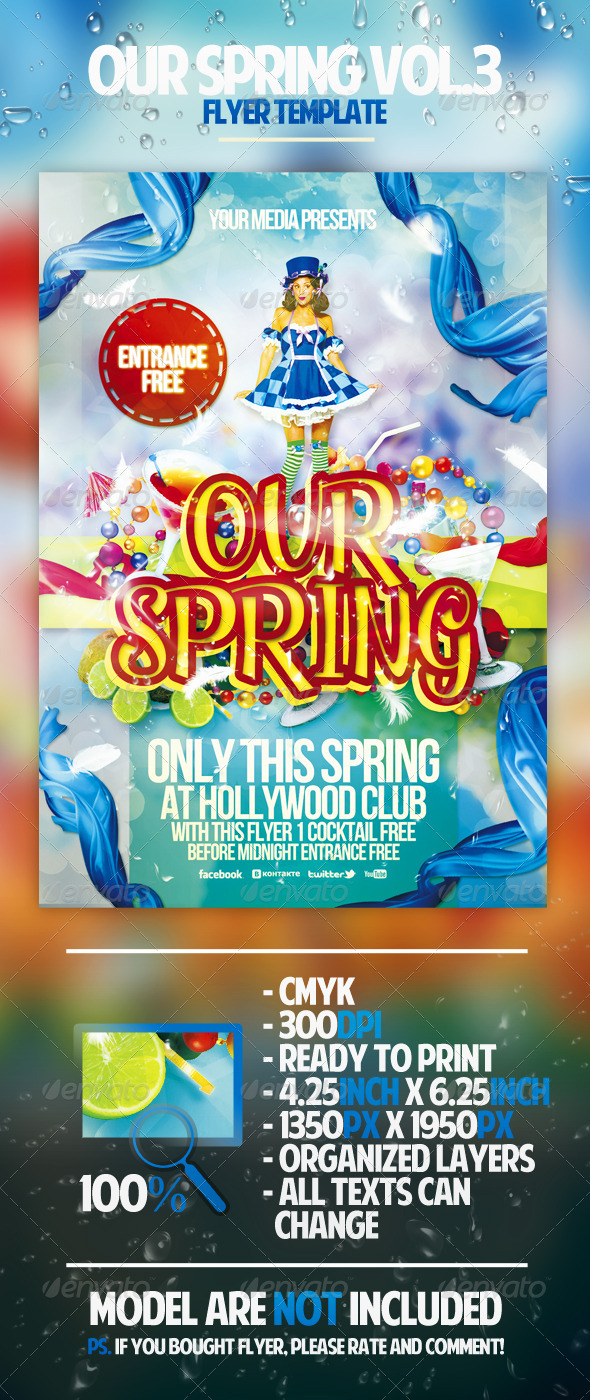 Our Spring Vol.3 Flyer Template