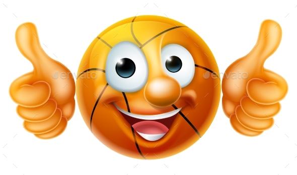 Basketball Cartoon Character - Sports/Activity Conceptual
