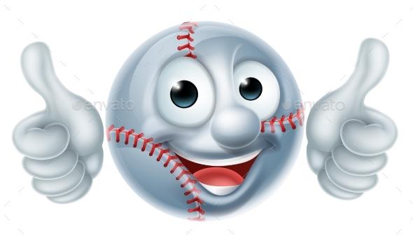 Cartoon Baseball Character - Sports/Activity Conceptual