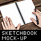 Sketchbook / Notebook Photo Mockups - GraphicRiver Item for Sale