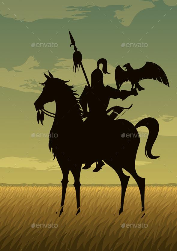 Mongol Warrior - People Characters