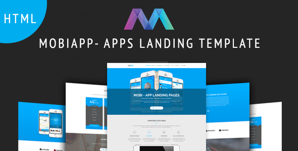 MobiAPP -  App Landing Page - Technology Landing Pages
