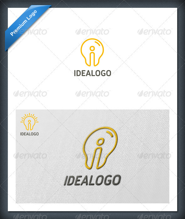 Idea Logo Template - Letters Logo Templates