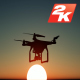 Drone Silhouette - VideoHive Item for Sale