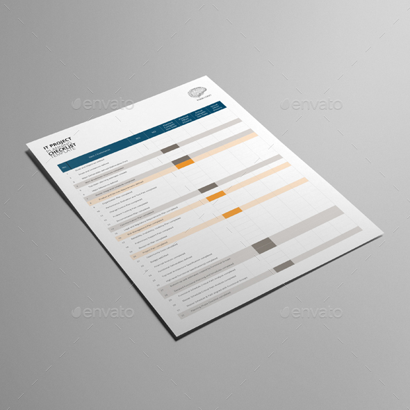Project Planning Checklist Template By Keboto | Graphicriver