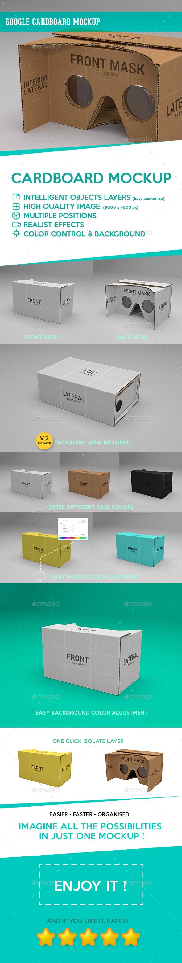 Google Cardboard Mockup - Miscellaneous Print
