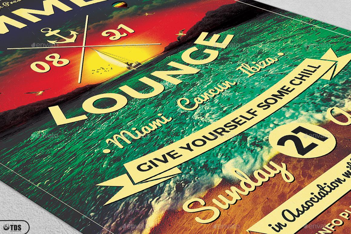 ... Lounge Flyer Template V3 ...