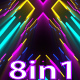 VJ Neon Background Lights - VideoHive Item for Sale