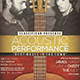 Acoustic Event Flyer / Poster Vol.12 - GraphicRiver Item for Sale