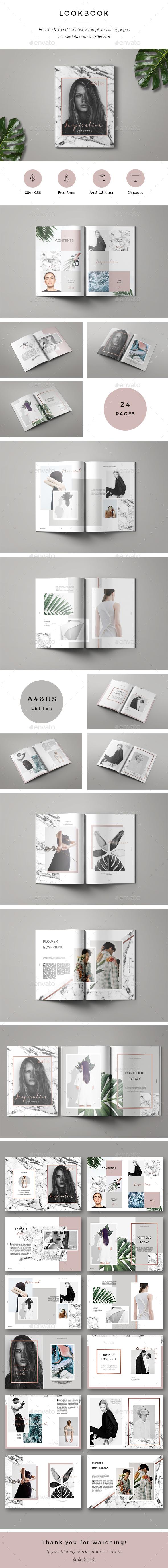 Inspiration Lookbook - Magazines Print Templates