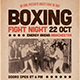 Boxing Flyer / Poster