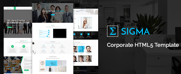 Sigma Corporate HTML5 Template