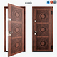 Door Circle Beldoorss - 3DOcean Item for Sale