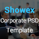SHOWEX - Corporate PSD Template - ThemeForest Item for Sale