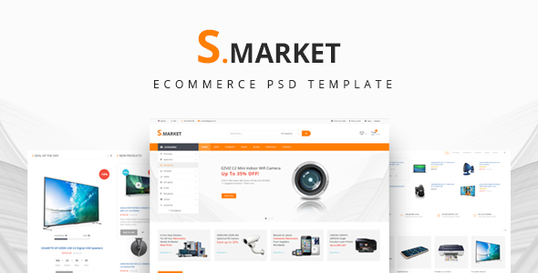 S.market – Ecommerce PSD Template