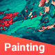 50 Realistic Painting Backgrounds - GraphicRiver Item for Sale