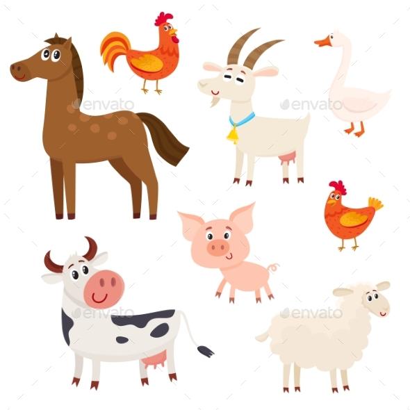Farm Animals - Animals Characters