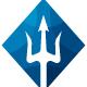 Poseidon Trident Logo