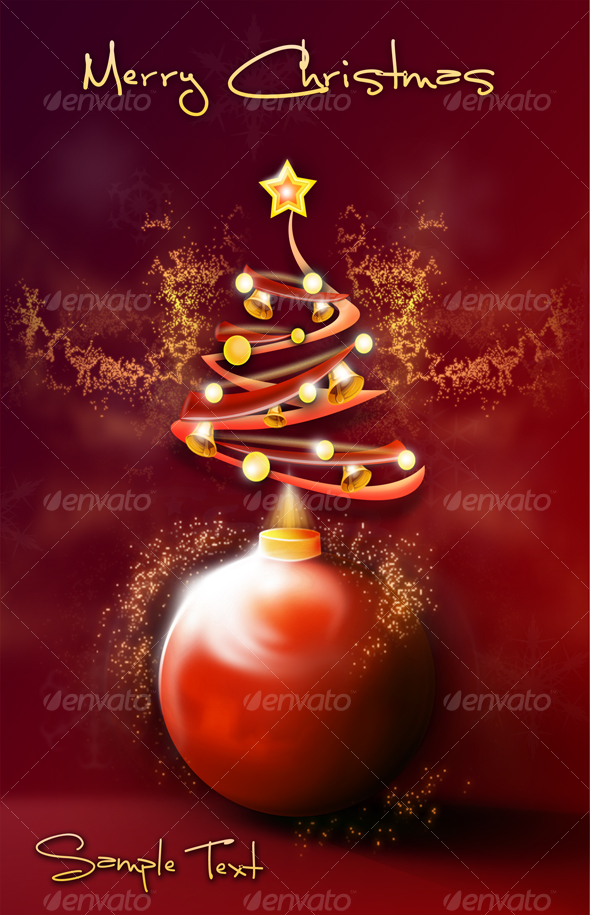 Merry Christmass Illustration - Illustrations Graphics