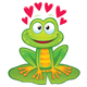 Valentine's Day Frog - GraphicRiver Item for Sale
