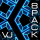 Abstract Blue Box VJ Pack
