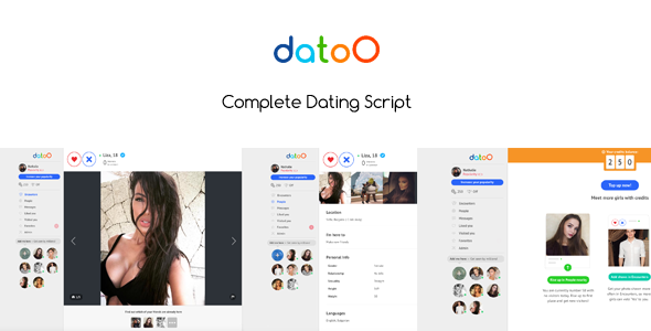 Datoo - Complete Dating Script - CodeCanyon Item for Sale