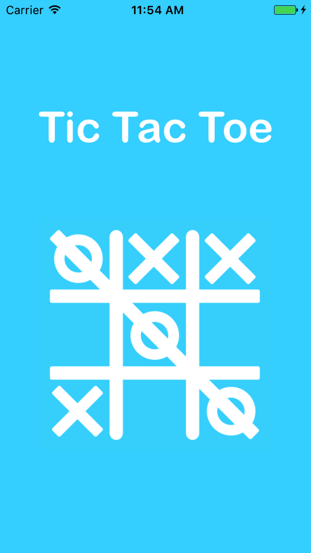 Tic tac toe ios app with admob by cube dev codecanyon for Tic tac toe menu template