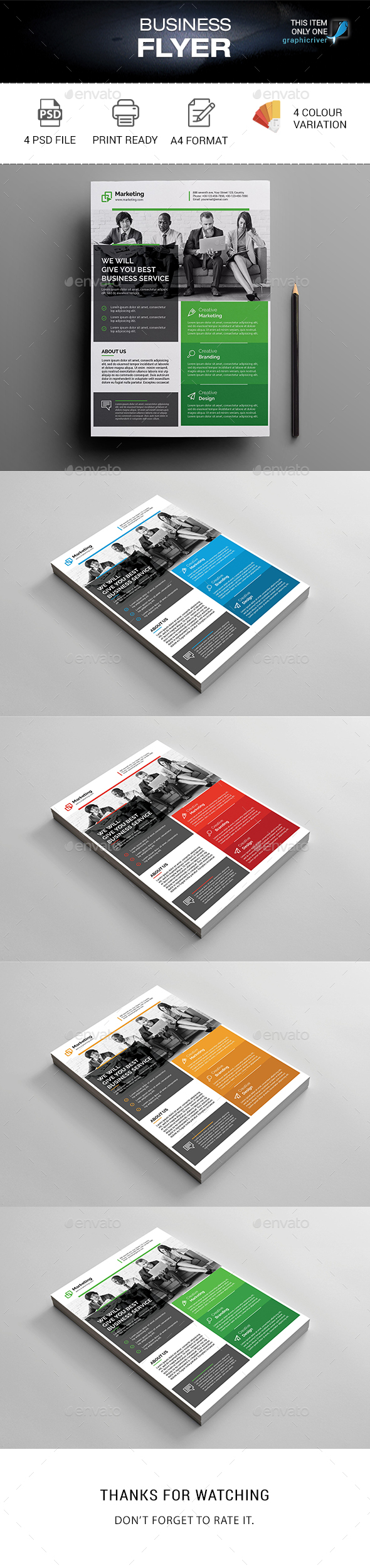 Business Flyer - Corporate Brochures
