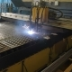 Plasma Cutting Machine in Operation