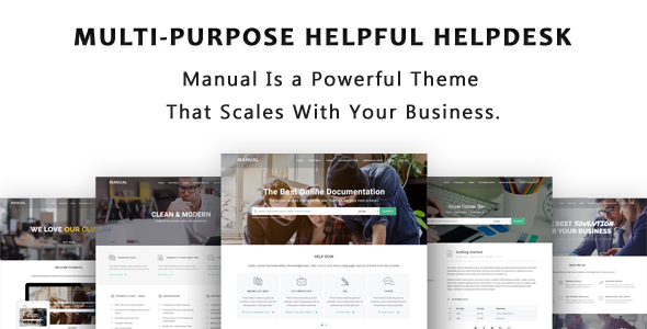 Manual - Multi-Purpose Online Documentation, Knowledge Base & Creative WordPress Theme - Miscellaneous WordPress