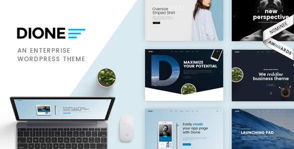 Dione - Enterprise Multi-Purpose WordPress Theme - Creative WordPress