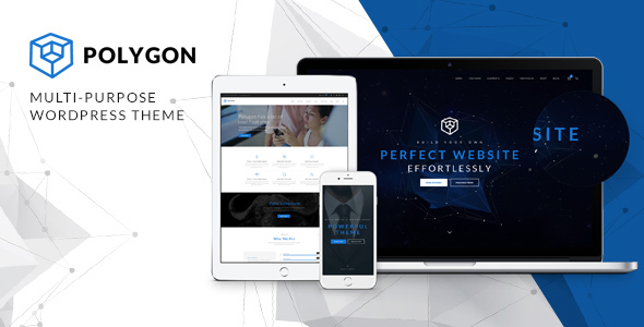 Polygon - A Powerful Multipurpose WP Theme - Business Corporate