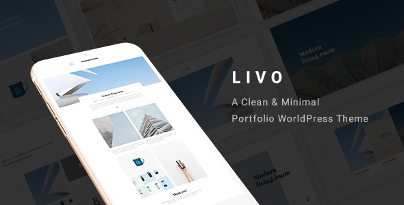 Livo - A Clean & Minimal Portfolio WordPress Theme
