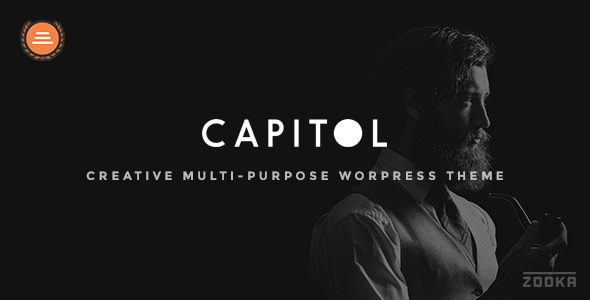 Capitol – Creative Multi-Purpose WordPress Theme - Creative WordPress