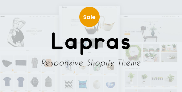 Lapras Responsive Shopify Theme - Fashion Shopify