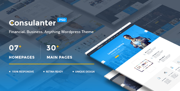 Consulanter – Business & Consulting PSD Templates