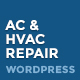 Air conditioner & HVAC Repair WordPress theme - ThemeForest Item for Sale