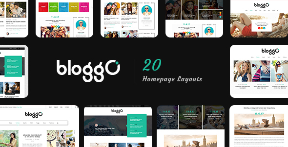 Bloggo - Multipurpose Blog Template