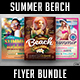 Summer Beach Flyer Bundle - GraphicRiver Item for Sale