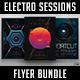Electro Sessions Flyer Bundle - GraphicRiver Item for Sale