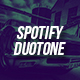 Spotify Duotone Template