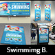 Swimming Advertising Bundle - GraphicRiver Item for Sale