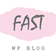 FastBlog - Elegant & Simple WordPress Blog Theme Nulled
