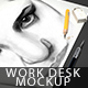 Desk Mockup - GraphicRiver Item for Sale