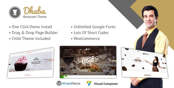 Restaurant - Restaurant WordPress Theme - Restaurants & Cafes Entertainment