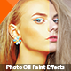 Golden Touch Oil Paint Photoshop Action - GraphicRiver Item for Sale