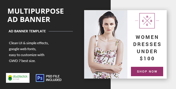 Multipurpose - HTML5 Animated Banner 17 - CodeCanyon Item for Sale