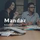Mandaz - Creative Keynote Template