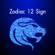 Zodiac 12 Sign Particle Looped - VideoHive Item for Sale