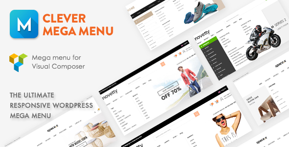 Clever Mega Menu for Visual Composer - CodeCanyon Item for Sale